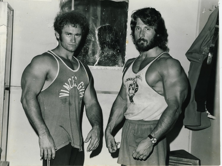 Robert-Nailon+Frank-Zane-1975-Coogee-Gym
