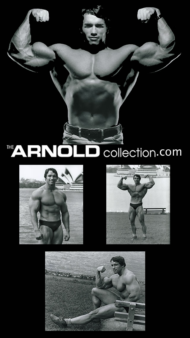 Arnold Schwarzenegger Collection iPad background